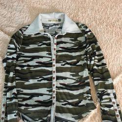 Women's khaki shirt