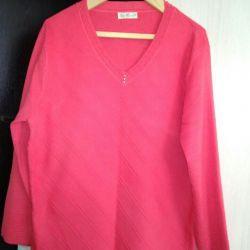пуловер женский р.58
