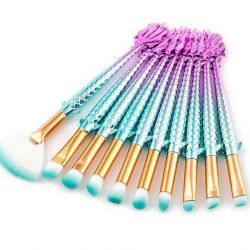 Professional makeup brush set 10pcs