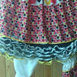 Clown butterscotch costume