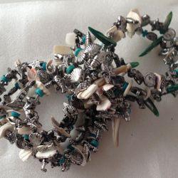 4pcs winding bracelets