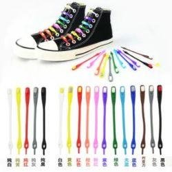 New silicone shoelaces (lazy shoelaces)