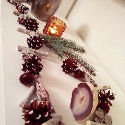 Christmas garland Hand Made