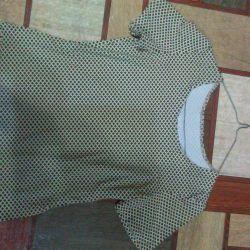 Μπλούζα με βισκόζη 46