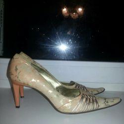 Deri bayan ayakkabı 37