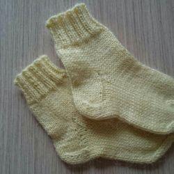 Woolen socks, new 2 pairs