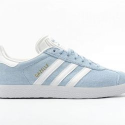 Adidas Gazelle OG suede blue and white