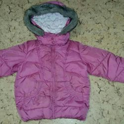 Winter jacket for the girl of Monthecare p116
