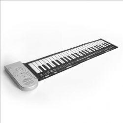 Гнучке піаніно з повнорозмірною клавіатурою