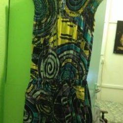 Платье-шорты цветное раз L р. 44-46