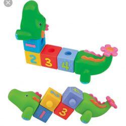 Сортер Крокодил резиновый Ks Kids