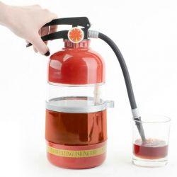 Dispenser pentru băuturi sub formă de extinctor