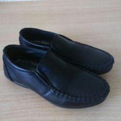 Туфли школьные, идеальное состояние