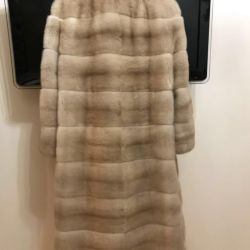 Mink fur coat Ekaterina