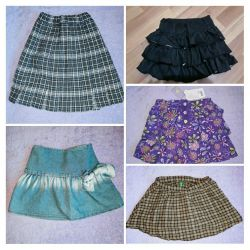 Skirts 5 pcs at a price of 1. RR 110