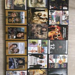 Vânzarea de discuri cu filme. Prețul pe disc