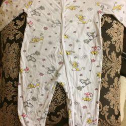 Children's overalls (slip, pajamas)