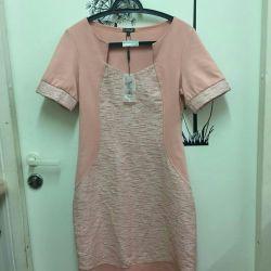 New dress from warm knitwear