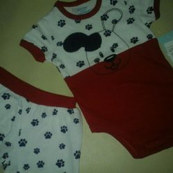 New!!! Set (body + shorts) GeeJay Baby