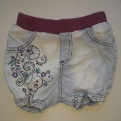Shorts for a girl 1-3 years.