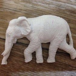 İğne işi fil