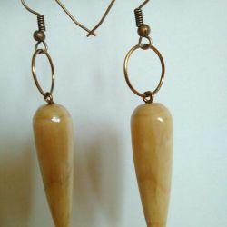 Original gift of a beloved, earrings.