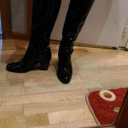 Women's Autumn Boots40p varnish