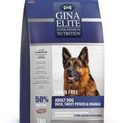 Gina Elite για σκύλους με πάπια, πορτοκάλι και γλυκοπατάτα