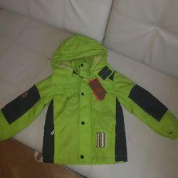 Demi-season jacket height 92-104