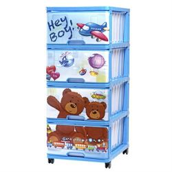 Çocuk Odası için Çekmeceli Plastik Göğüs - 040316