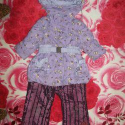 Costum de iarna pentru fata