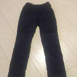 Pants warmed