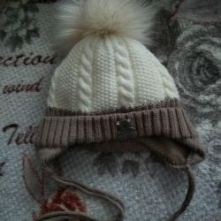 Warm hat for a child