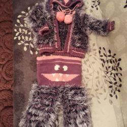 New warm teddy bear suit