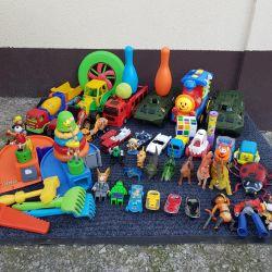 Sandbox için parça oyuncak araba