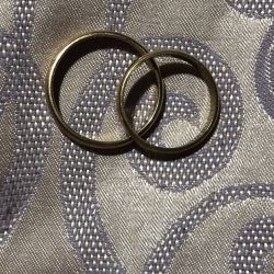 Χρυσά γαμήλια δαχτυλίδια 585