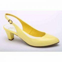 Желтые туфли фирма рес*пект