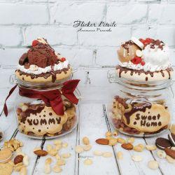 Sweet jar of ice cream
