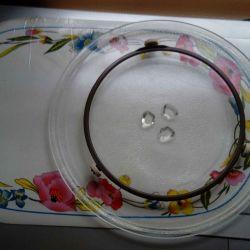 Pan for microwave panasonic
