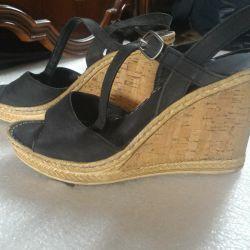 Туфли летние
