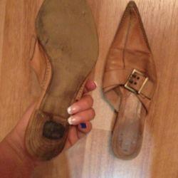 Παπούτσια γνήσιο δέρμα