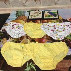 New panties for girls