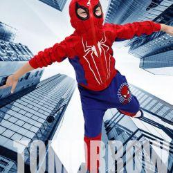 Spider-Man suit three 100% cotton new + m