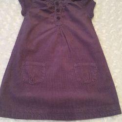 Платье - сарафан. Вельвет
