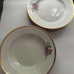 Plates of Soviet times