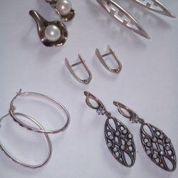 Earrings 925 silver