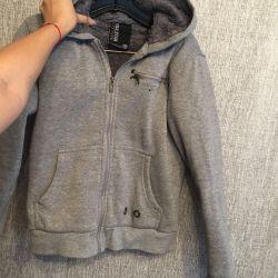 Fur warm jacket