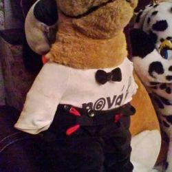 М'яка іграшка - Вовк Novak в одязі