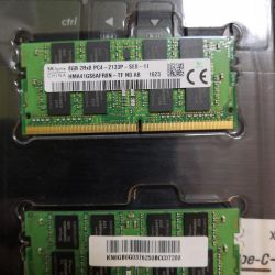 RAM DDR 4 8gb 2pcs.
