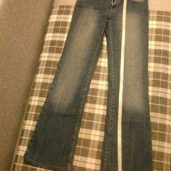 Jeans 42-44, Gloria Jeans, 150 de ruble.